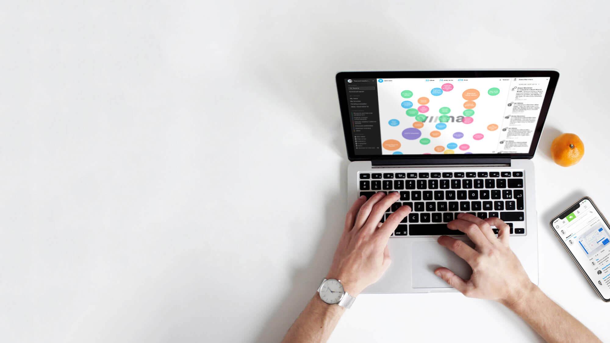 Viima digital continuous improvement software