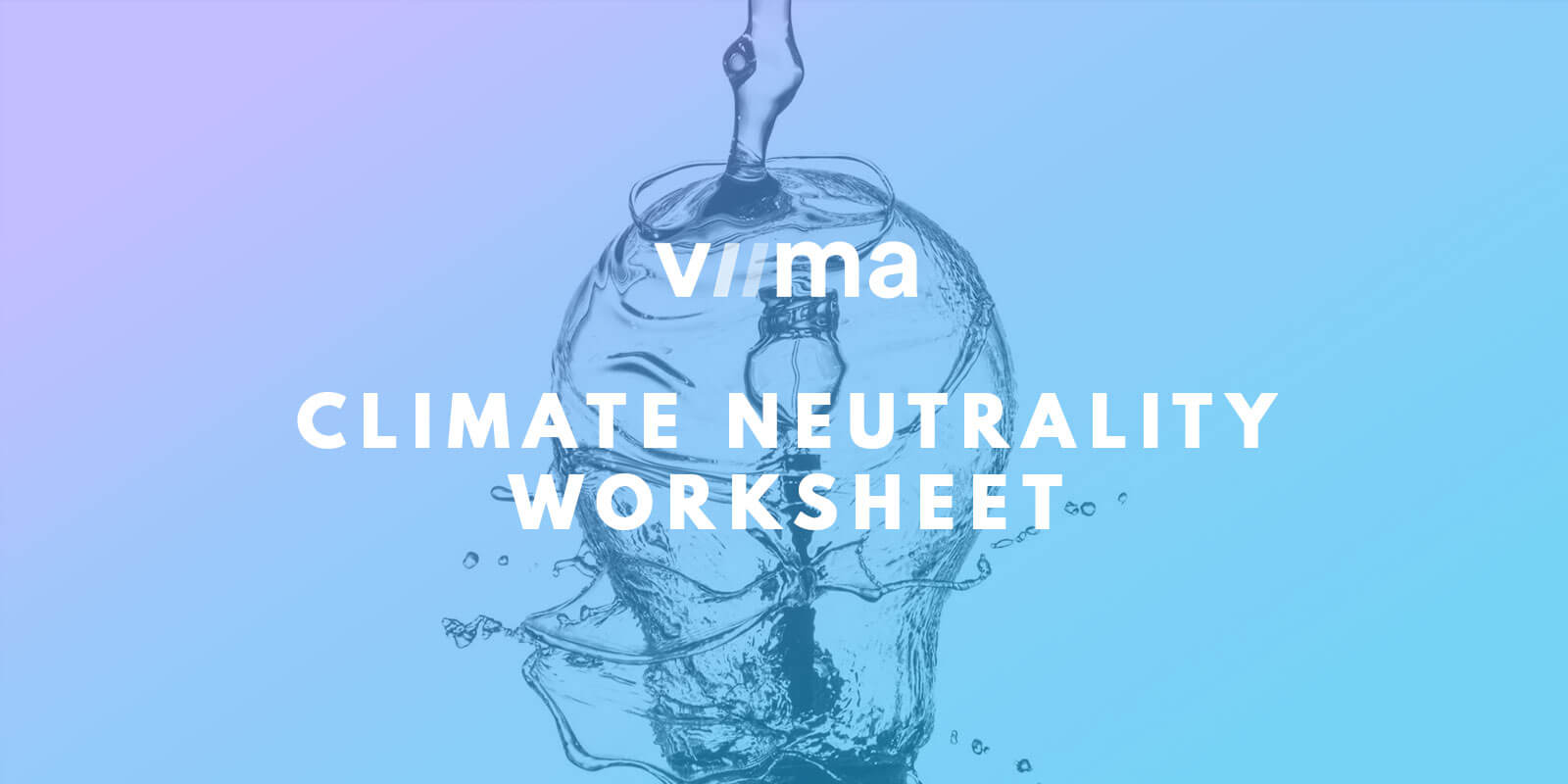 Viima climate neutrality worksheet