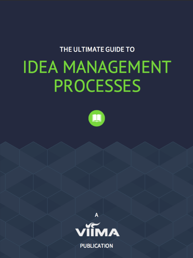 The Ultimate Guide to Idea Management Processes Ebook Cover