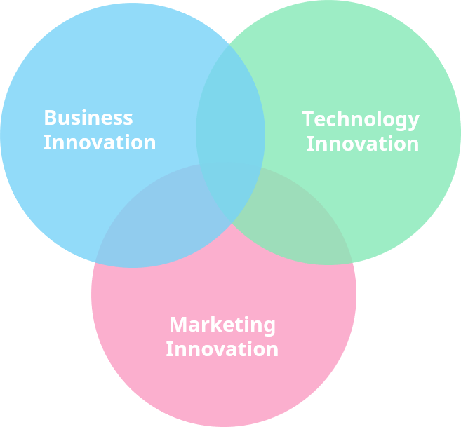 Business, technology, marketing innovation