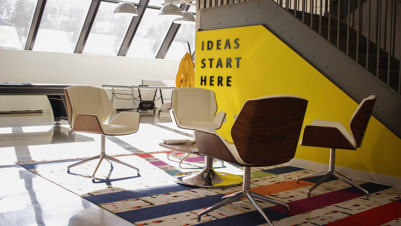 Innovation and ideas start here