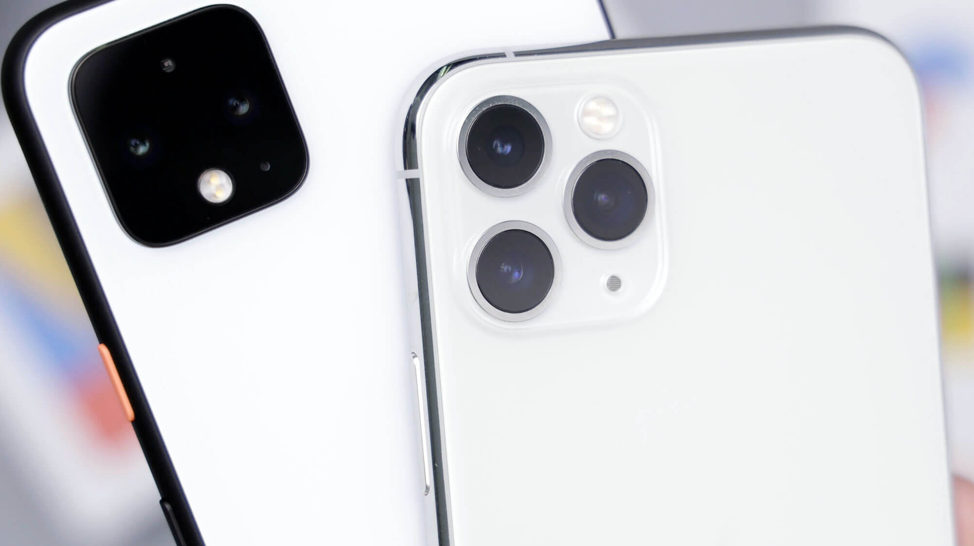 Modern camera phones use software to improve image quality