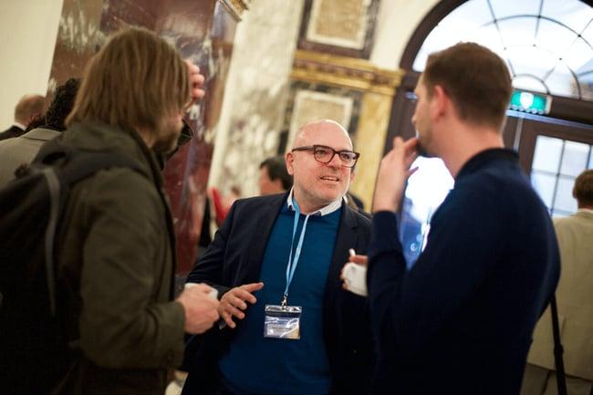 Open innovation 2.0 conference. Original photo by sebastiaan Ter Burg. https://www.flickr.com/photos/ter-burg/27217605675