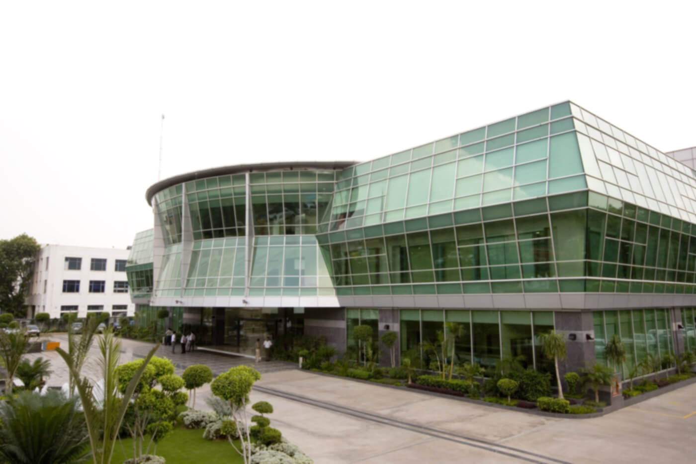Samsung office building - Original image by Secl, source https://en.wikipedia.org/wiki/Samsung#/media/File:Samsung_Engineering_India_office.jpg
