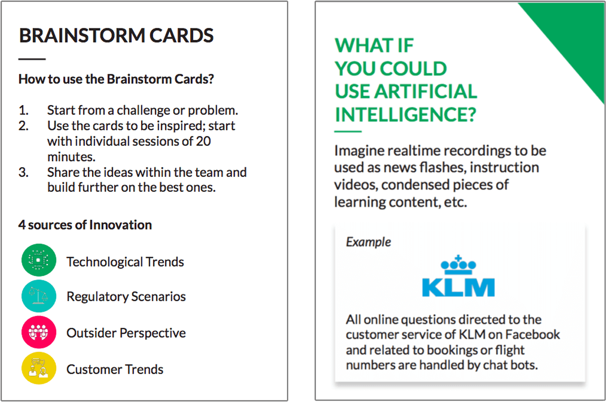 Brainstorm Cards by the Board of Innovation