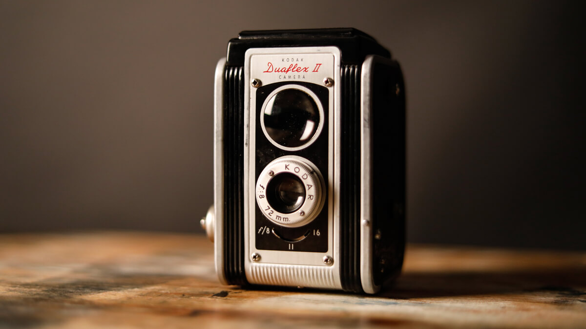 Kodak antique camera