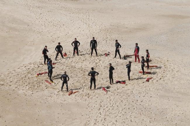 a self organizing team