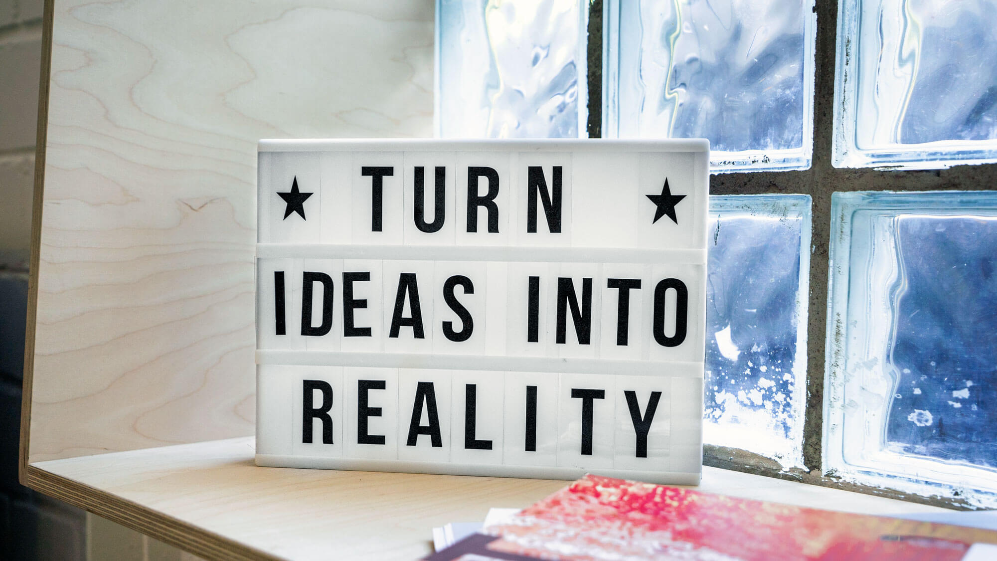 What is innovation? We define it as basically anything new that your turn into a reality