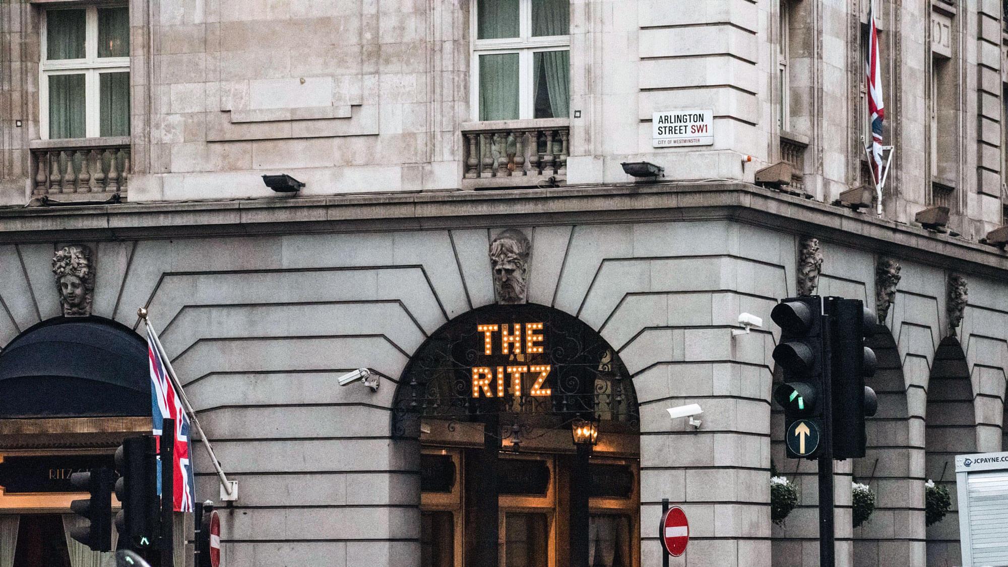 A Ritz hotel
