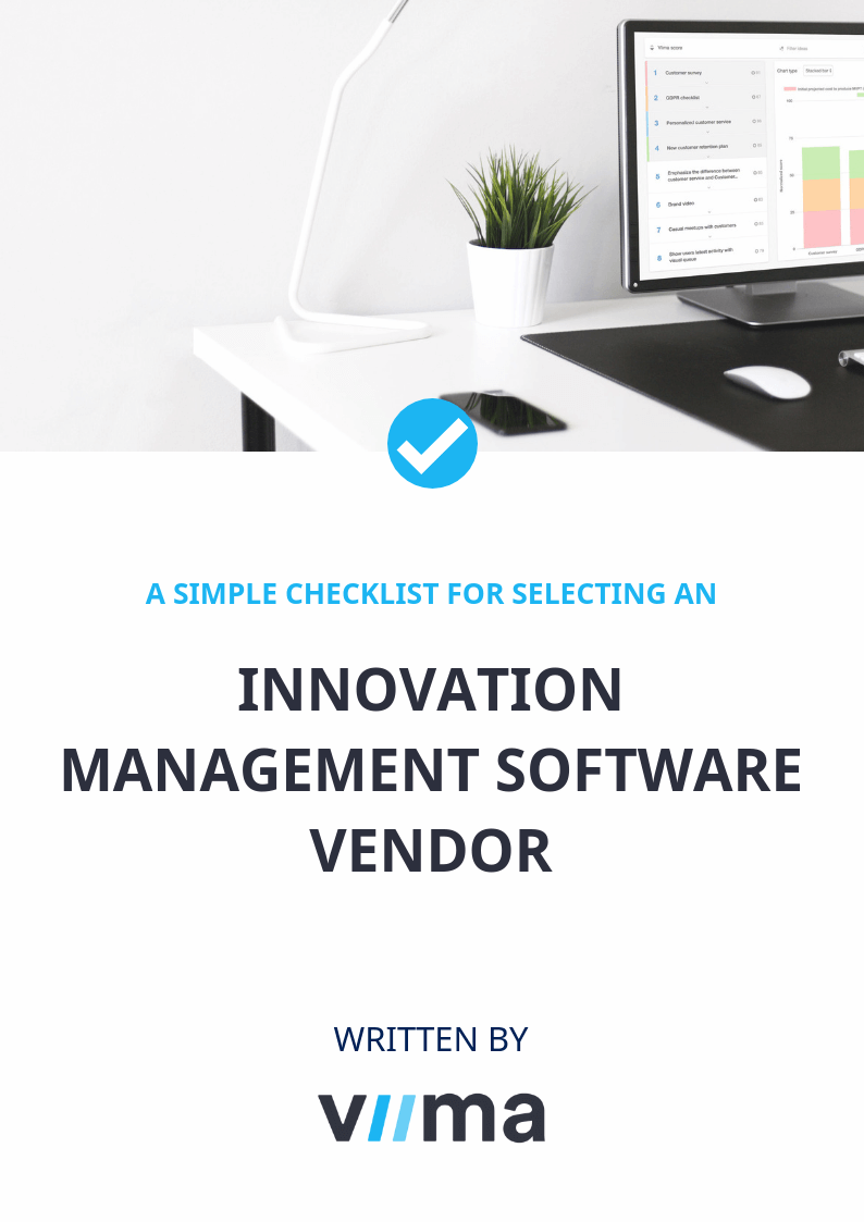 Vendor checklist cover