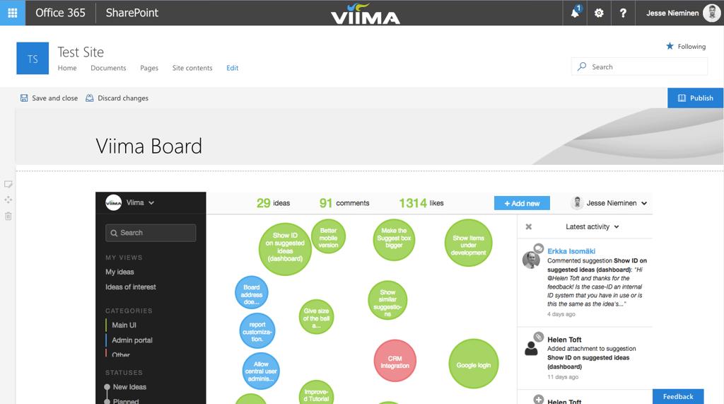 viima-sharepoint-idea-management